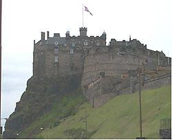 Edinburgh Castle Exterior (NONABBIPIC)
